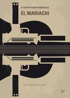 No445 My El mariachi minimal movie poster