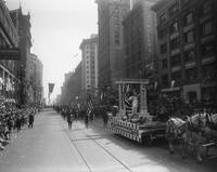 Lady Liberty Float - Armistice Day parade