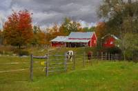 Red Horse Barn