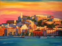 Ibiza Eivissa Old Town and Harbour Pearl of the Me