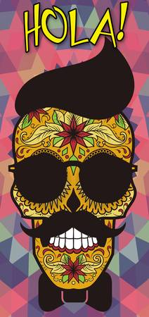 Hola! Sugar Skull - Day of the Dead