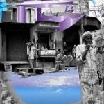 """Rajasthan street scene smoker-11 Bekaner India"" by lawrencefawcett"