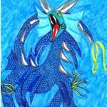 """Blue Dragon 2015"" by 4FootNinja"