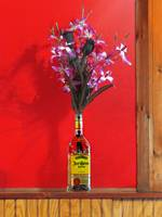 Liquor Bottle Vase-2