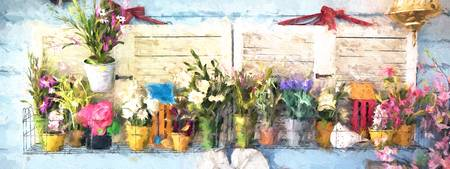 Country Porch Flowers [Gary Guthrie]