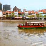"""Singapore river  in Color"" by sghomedeco"
