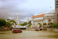 Singapore River in Color, Fine Singapore Photograp