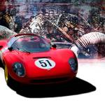 """1966 Ferrari SP206 Replica"" by StuartRow"