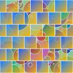 """Colorful tiled puzzle"" by gavila"