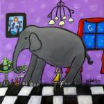 """The Elephant In The Room"" by juliryan"
