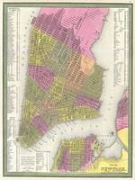 Vintage Map of New York City (1848)