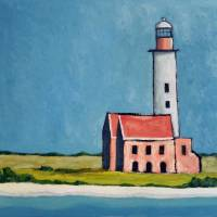 Abandoned Lighthouse Art Prints & Posters by Robert Holewinski