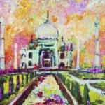 """Taj Mahal India by Ginette"" by GinetteCallaway"