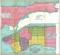 Vintage NYC Fire Department Map (1871)