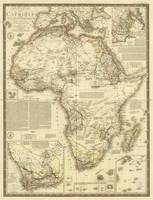 Vintage Map of Africa (1828)