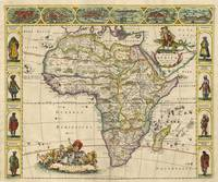 Vintage Map of Africa (1660)