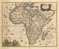 Vintage Map of Africa (1689)