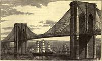 Vintage Illustration of The Brooklyn Bridge (1879)