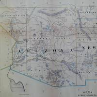 Vintage Map of Arizona (1866)