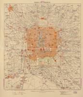 Vintage Map of Beijing China (1907)