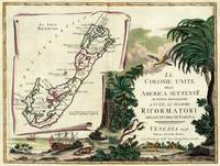 Vintage Map of Bermuda (1778)
