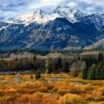 """Autumn in the Tetons"" by BrianKerls"