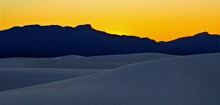 White Sands Sunset