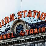 """Union Station - Travel by Train"" by BrianKerls"
