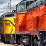 """Vintage Locomotives"" by BrianKerls"