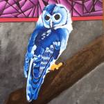 """BLUE OWL"" by ROFFEART"