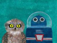 Owl and Robot