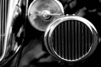 Black and White Vintage Car Abstract 2