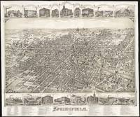 Vintage Pictorial Map of Springfield Ohio (1884)