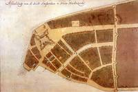 Vintage Map of New Amsterdam (1660) 2