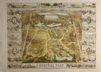 Vintage Central Park NYC Pictorial Map (1863)