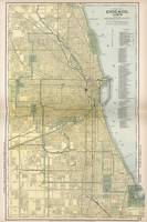 Vintage Map of Chicago (1891)