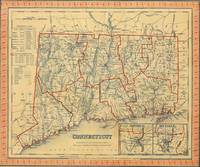 Vintage Map of Connecticut (1846)