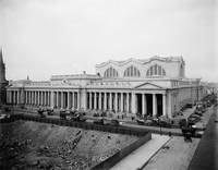 Vintage Pennsylvania Railroad Station Photograph