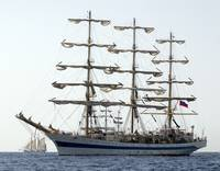 Tall Ship Mir.
