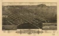 Vintage Pictorial Map of Helena Montana (1883)