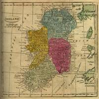 Vintage Map of Ireland (1808)