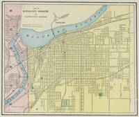 Vintage Map of Kansas City Missouri (1901)
