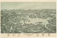 Vintage Pictorial Map of Lake Winnipesaukee (1903)