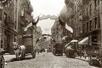 Little Italy Mott Street NYC Photograph (1908)