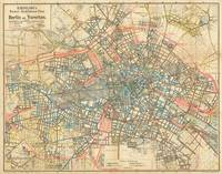 Vintage Map of Berlin Germany (1904)