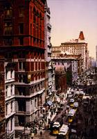 Vintage Broadway NYC Photo-Print (1900)