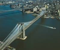 Brooklyn Bridge Aerial Photograph