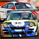 """Porsches Racing"" by ArtbySachse"