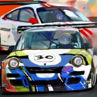 Porsches Racing Art Prints & Posters by Tom Sachse