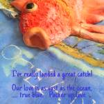 """""""1997 FishCAMProductions1A fish love"""" by CAMProductions"""